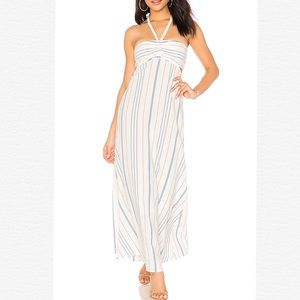 🌸NWT 1.STATE HALTER BANDEAU MAXI SUNDRESS